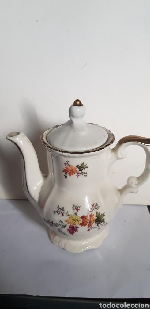 TETERA DE PORCELANA (Antigüedades - Porcelanas y Cerámicas - Otras)