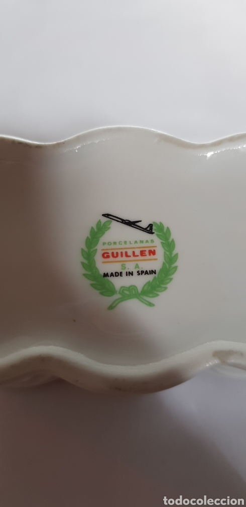 Antigüedades: Caja de porcelana guillen - Foto 2 - 132411182