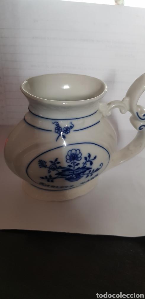 JARRA LECHERA PORCELANA EPIAG CHECA (Antigüedades - Porcelanas y Cerámicas - Otras)