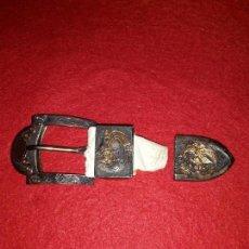 Antigüedades: ANTIGUA HEBILLA MEXICO DE PLATA 1950.. Lote 132424726