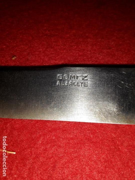Antigüedades: 6 cuchillos años 30 punzón Gómez Albacete, - Foto 2 - 132425174