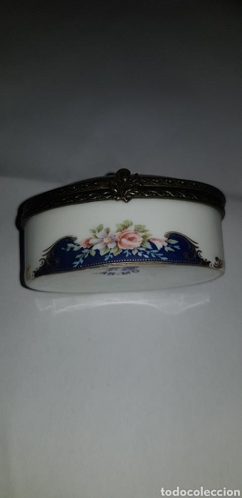 Antigüedades: Cajita en porcelana ar-mo - Foto 3 - 132425546