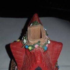 Antigüedades: CASITA PARA METER VELA DENTRO. Lote 132425895