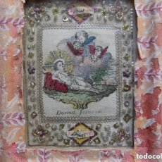 Antigüedades: LIBRERIA GHOTICA. EXCELENTE EXVOTO DEL SIGLO XVIII DEL AGNUS DEI. PLATA Y FILIGRANA DE TEJIDOS. Lote 132432718