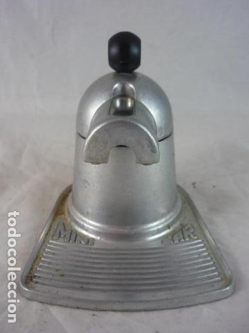 Antigüedades: Cafetera Mini Bar - Aluminio Años 70 - Foto 2 - 132434982