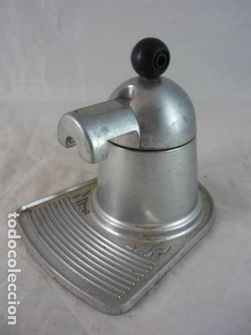 Antigüedades: Cafetera Mini Bar - Aluminio Años 70 - Foto 3 - 132434982