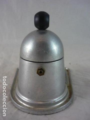 Antigüedades: Cafetera Mini Bar - Aluminio Años 70 - Foto 4 - 132434982