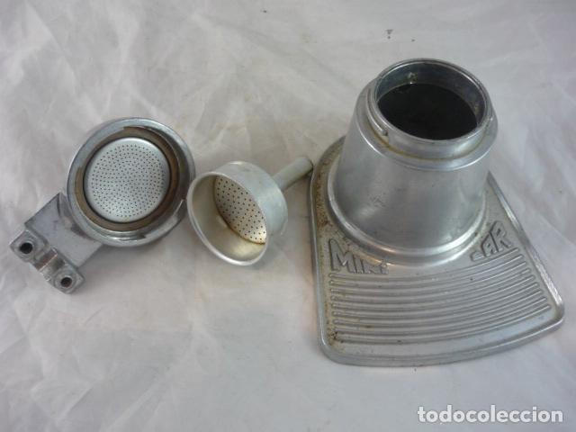 Antigüedades: Cafetera Mini Bar - Aluminio Años 70 - Foto 6 - 132434982