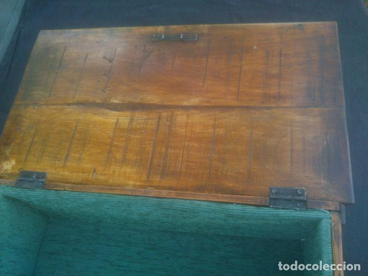 Antigüedades: Arca antigua de pino labrado - Foto 10 - 132485918