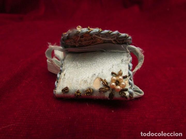 Antigüedades: Dos escapularios antiguos - Foto 6 - 132493182