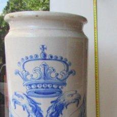 Antigüedades: PARAGÜERO/ BASTONERO DE CERÁMICA . Lote 132500210