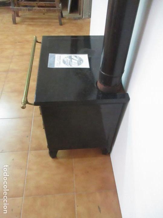 Antigüedades: Antigua Cocina Económica - Marca Hergo - con Catalogo - Foto 20 - 155192248
