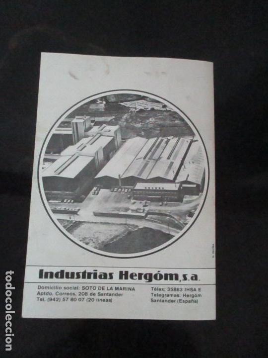 Antigüedades: Antigua Cocina Económica - Marca Hergo - con Catalogo - Foto 29 - 155192248