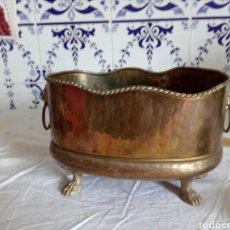 Antigüedades: CENTRO DE MESA DE METAL. Lote 132503706