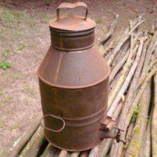 Antigüedades: DEPOSITO DE ACEITE CON GRIFO. Lote 132517454