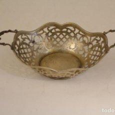 Antigüedades: FRUTERO BANDEJA EN PLATA MACIZA DE LEY 925MILESIMAS . Lote 135379285