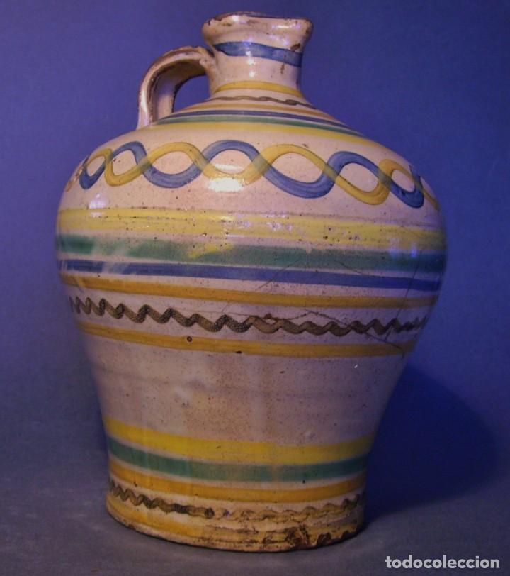 Antigüedades: ROTUNDA ALCUZA CERÁMICA DE PUENTE DEL ARZOBISPO XIX - Foto 3 - 132533566