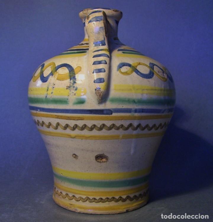 Antigüedades: ROTUNDA ALCUZA CERÁMICA DE PUENTE DEL ARZOBISPO XIX - Foto 6 - 132533566