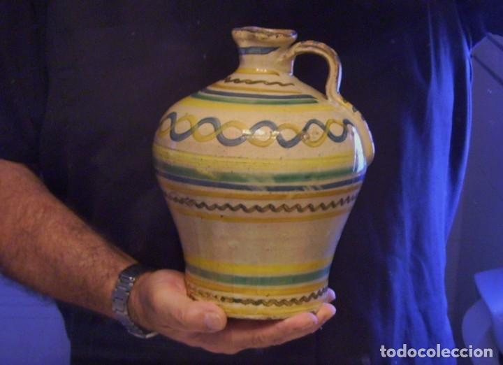 Antigüedades: ROTUNDA ALCUZA CERÁMICA DE PUENTE DEL ARZOBISPO XIX - Foto 14 - 132533566