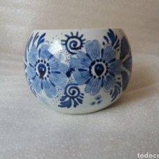 Antigüedades: TAZON CERÁMICA HOLANDESA DELFT. Lote 132555354