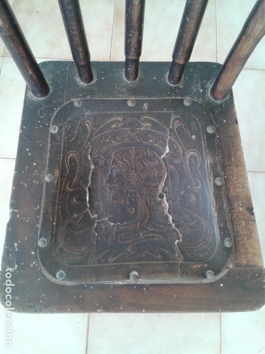 Antigüedades: SILLA TIPO THONET ANTIGUA - Foto 2 - 132556438