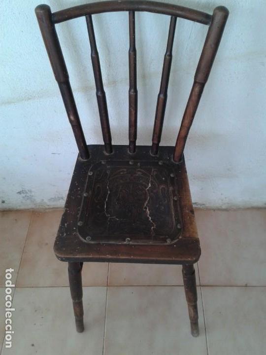 SILLA TIPO THONET ANTIGUA (Antigüedades - Muebles Antiguos - Sillas Antiguas)