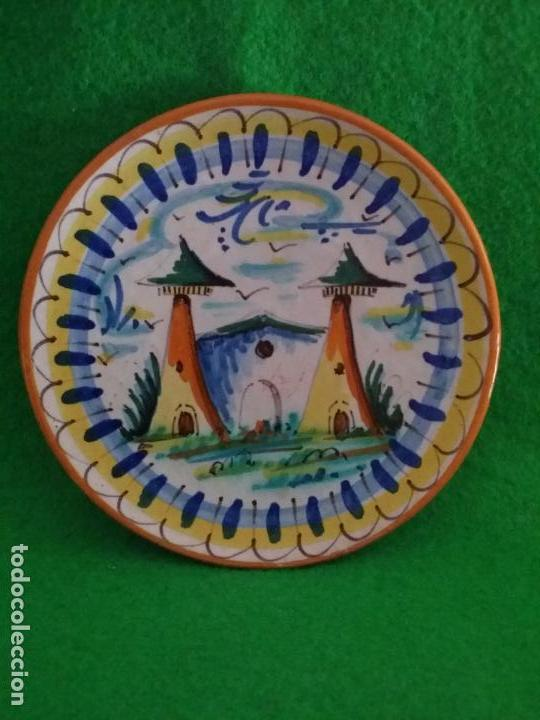 PLATO DE CERAMICA DE TRIANA SEVILLA (Antigüedades - Porcelanas y Cerámicas - Triana)