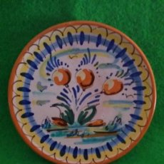 Antigüedades: PLATO DE CERAMICA DE TRIANA SEVILLA. Lote 132562070