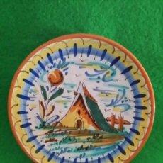 Antigüedades: PLATO DE CERAMICA DE TRIANA SEVILLA. Lote 132562210