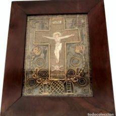 Antigüedades: RELICARIO ITALIANO - PASTA DI RELIQUIE - S. XVIII - RARO. Lote 132569226