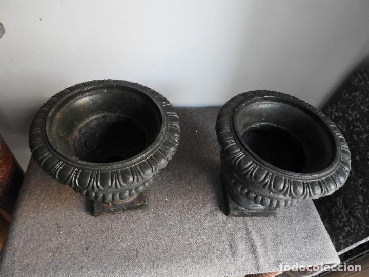 Antiquitäten: BONITA PAREJA DE COPAS DE HIERRO ANTIGUAS - Foto 2 - 132578346