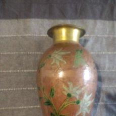 Antigüedades: JARRÓN ESMALTADO CLOISONNE. Lote 132578694