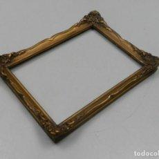 Antigüedades: ANTIGUO MARCO PORTA-FOTOS PAN DE ORO FOTOS DE PARED EXCELENTE PIEZA DE DECORARON . Lote 132587630