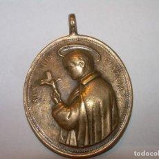 Antigüedades: ANTIGUA MEDALLA DE BRONCE...SIGLO XVII - XVIII.. Lote 132594334