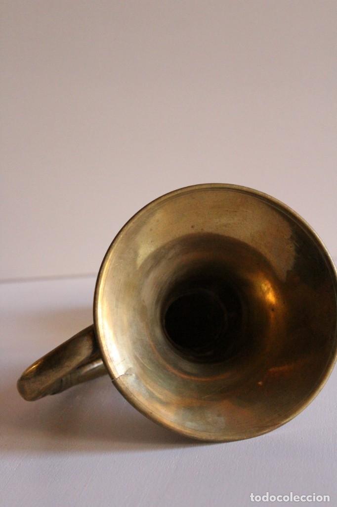Antigüedades: Antigua bocina de gran tamaño - Foto 4 - 119888480