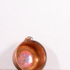 Antigüedades: CALDERO ANTIGUO DE COBRE. Lote 132649834