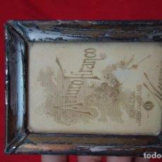 Antigüedades: PORTAFOTOS DE METAL PLATEADO DE PRINCIPIOS DEL SIGLO XX. Lote 132662814