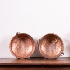 Antigüedades: CALDERO DE COBRE ANTIGUO. Lote 132665322