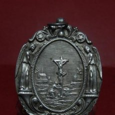 Antigüedades: RELICARIO DE PLATA. SAN ALONSO RODRÍGUEZ. SIGLO XIX. 1830. MALLORCA. BALEARES.. Lote 132686754
