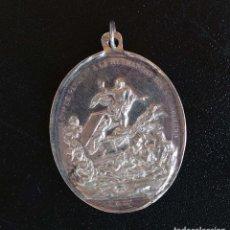 Antigüedades: MEDALLA DE PLATA. HERMANDAD DE SANTO SEPULCRO.DE LA PARROQUIAL Y PATRIARCAL DE S. BARTOLOME VALENCIA. Lote 132686854