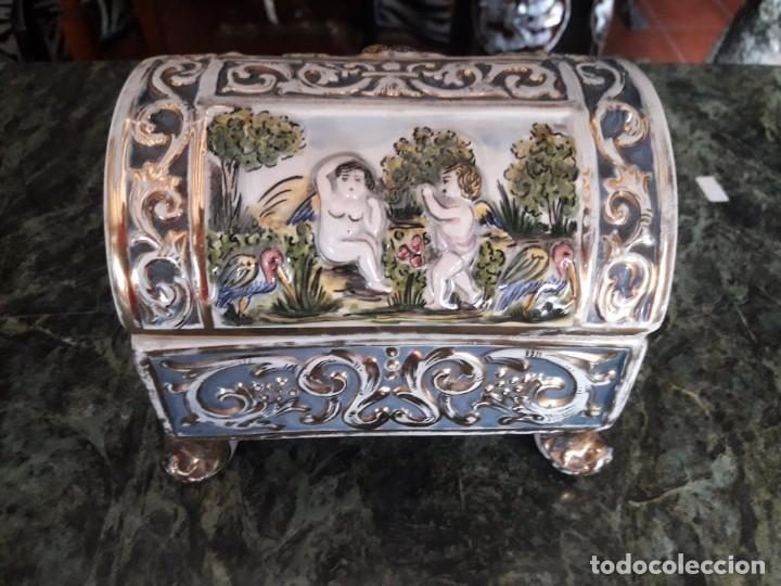 JOYERO (Antigüedades - Porcelanas y Cerámicas - Otras)