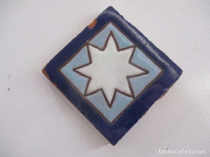 OLAMBRILLA ANTIGUA AZULEJO (Antigüedades - Porcelanas y Cerámicas - Azulejos)