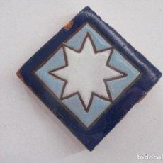 Antigüedades: OLAMBRILLA ANTIGUA AZULEJO. Lote 132730322