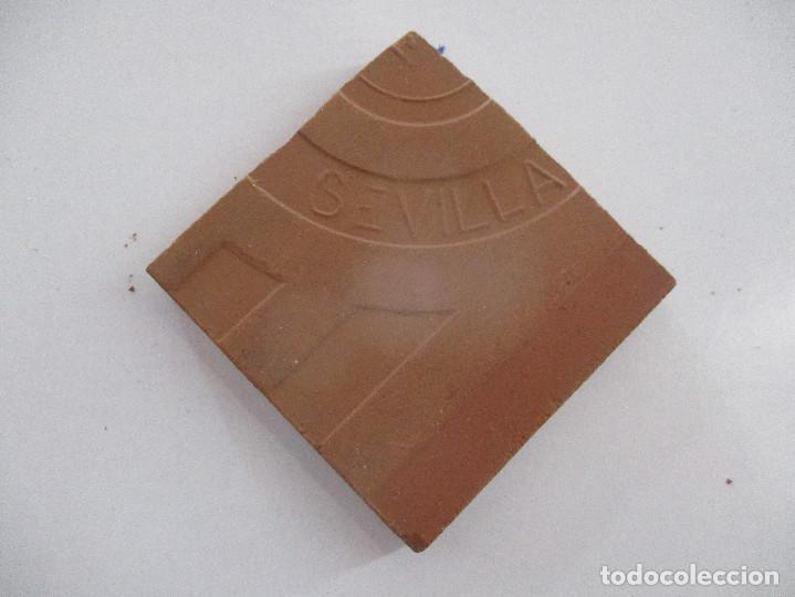 Antigüedades: olambrilla antigua azulejo - Foto 2 - 132730322