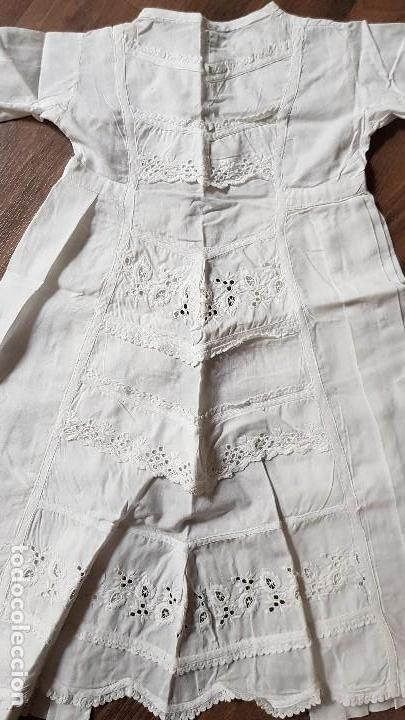 Antigüedades: Antiguo vestido de bebe. Principios del siglo XX - Foto 2 - 132733986