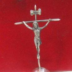Antigüedades: CRUZ DE PLATA - MEDIDA 10 CM.. Lote 132735830