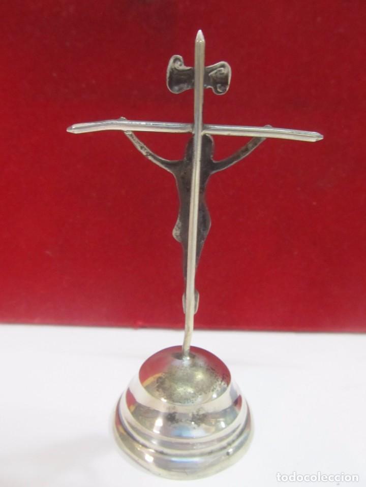 Antigüedades: CRUZ DE PLATA - MEDIDA 10 cm. - Foto 2 - 132735830