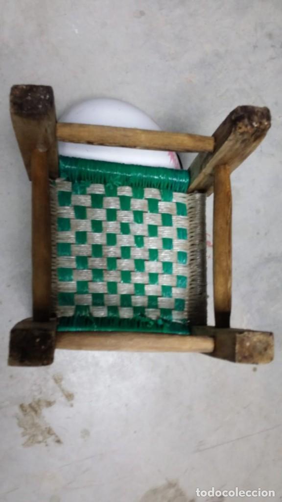 Antigüedades: pequeña silla de madera - Foto 6 - 132740994