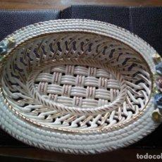 Antigüedades: * ANTIGUA BANDEJA PRESENTADORA. 27 CM (RF: BV/E ). Lote 132741426