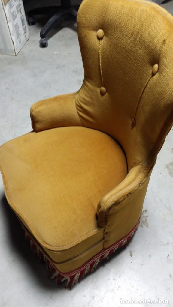 Antigüedades: silla calzadora, sillòn calzador - Foto 6 - 132741550